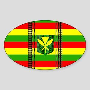 Tribal Kanaka Maoli Sticker