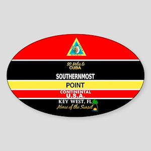 Southernmost Point Buoy Key West Sticker