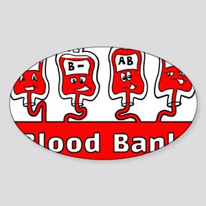 Blood Bank Sticker
