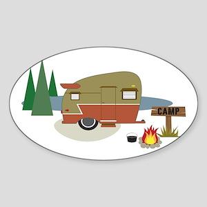 Camping Trailer Sticker