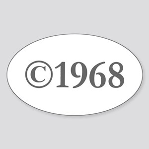 Copyright 1968-Gar gray Sticker