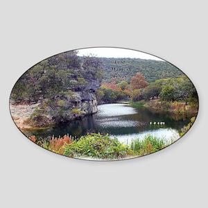 Lost Maples Pond Sticker