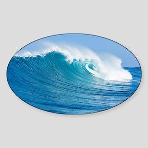 Blue Wave Sticker