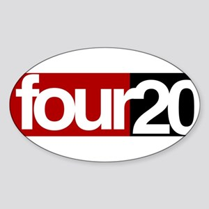 four20 Sticker (Oval)