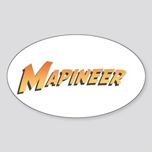 Mapineers Oval Sticker