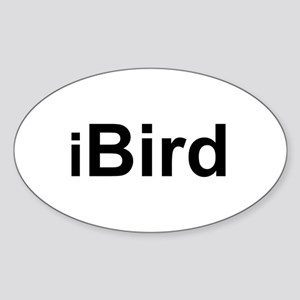 iBird Oval Sticker