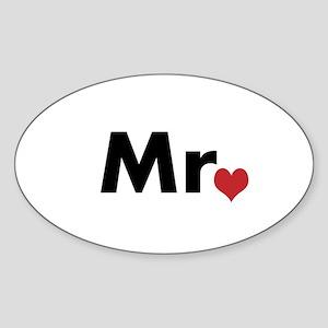 Mr Sticker (Oval)