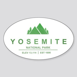 Yosemite National Park, California Sticker