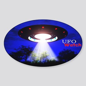 UFO Watch Sticker