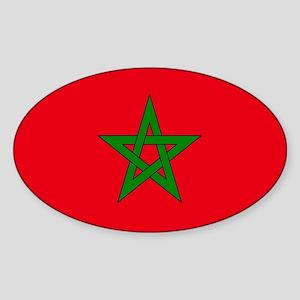 moorish flag, morocco glag, moroccan flag, Sticker