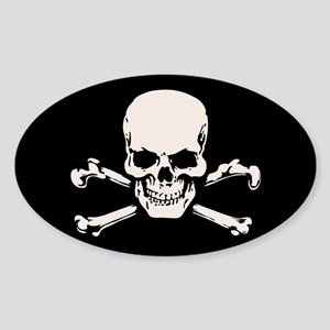 Basic BAMF Skull Sticker (Oval)