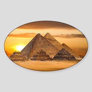 Egyptian pyramids Sticker