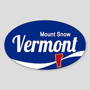 Mount Snow Ski Resort Vermont Epic Sticker