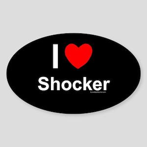 Shocker Sticker (Oval)