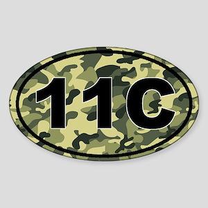 11C Mortars Infantry Sticker