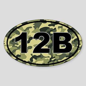 12B Combat Engineer Sticker