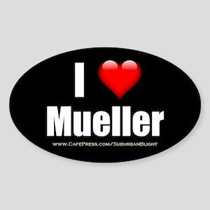 I Love Mueller Sticker
