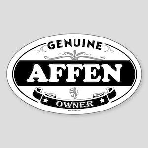 AFFEN Oval Sticker