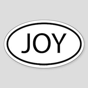 JOY Oval Sticker