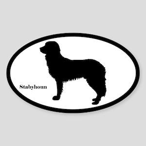 Stabyhoun Silhouette Sticker