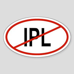 IPL Oval Sticker