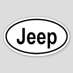 JEEP Oval Sticker