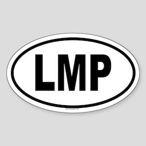 LMP Oval Sticker