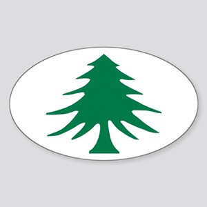 PineTreeFlag Sticker