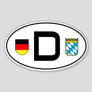 Germany car sticker (Bayern variant)