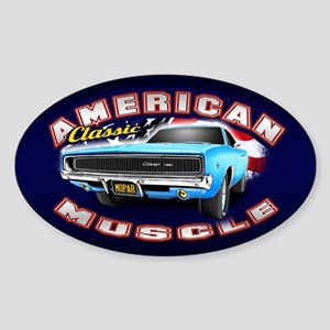 American Muscle - Charger Sticker (Oval)