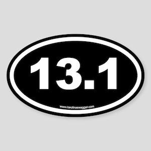 13.1 Half Marathon Sticker