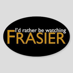Frasier Sticker (Oval)