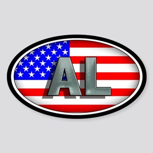 ALABAMA Oval Sticker