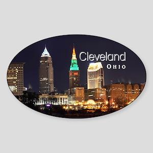 Cleveland Sticker (Oval)
