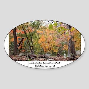 Lost Maples 002 Sticker