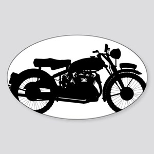 Motor Cycle Silhouette Sticker