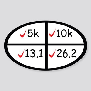 Marathon goals Sticker
