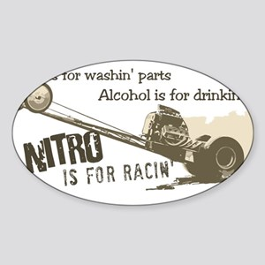 NITRO Oval Sticker