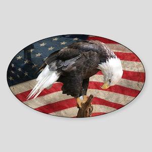 United States of America prayer Sticker