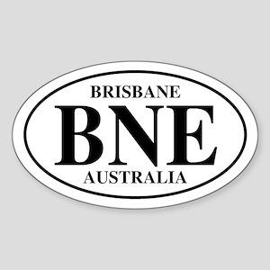 BNE Brisbane Oval Sticker