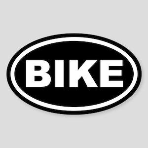Bike Euro Oval Sticker