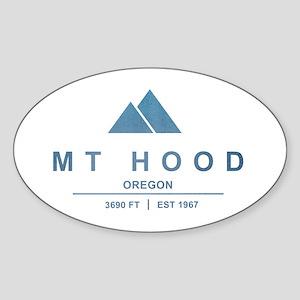 Mt Hood Ski Resort Oregon Sticker
