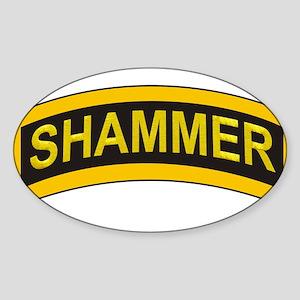 Shammer (Ranger) Sticker (Oval)