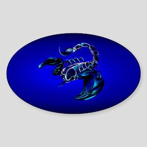 PatchBlack Scorpion Sticker (Oval)