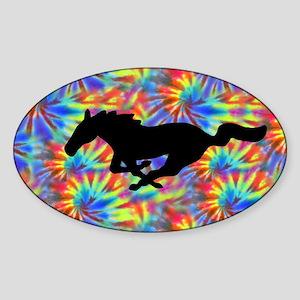 plate-4 Sticker (Oval)