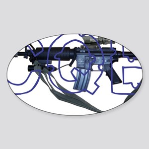 cqb1 Sticker (Oval)