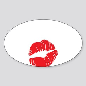 blowjob queen3 Sticker (Oval)