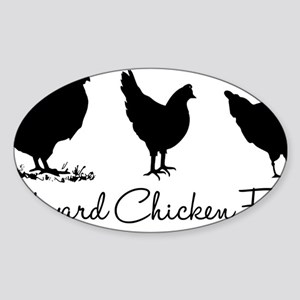 backyardchickenfarmer Sticker (Oval)