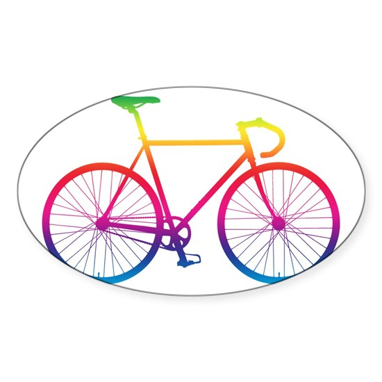 Road Bike - Rainbow