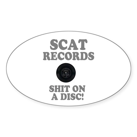 SCAT RECORDS - SHIT ON A DISC! -